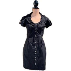 ☀️4/25 XOXO Button-Front Shirtdress w/Pockets